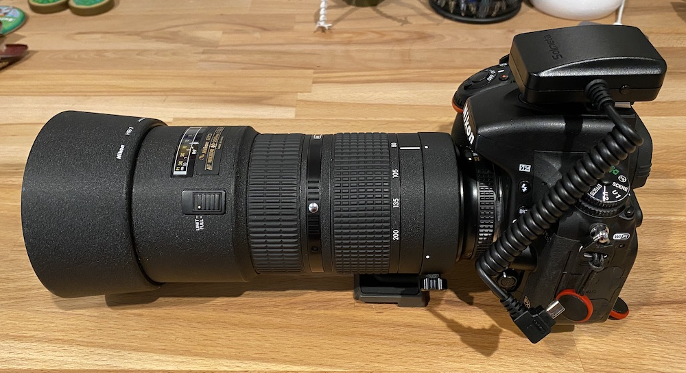 Nikon 80-200 f/2.8 D Focus Mode Lock Switch Repair